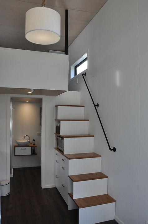 the ASTON 3 stair storage by miHAUS