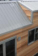the LODGE cedar tiny home by miHAUS