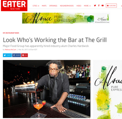 Look Who's Working the Bar The Grill