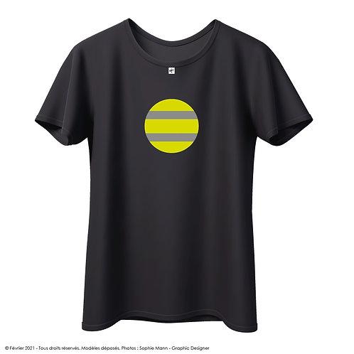 "T-shirt ""Espíritu chaqueta amarilla"""