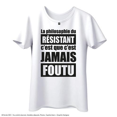 "T-shirt ""Philosophy of resistance"""