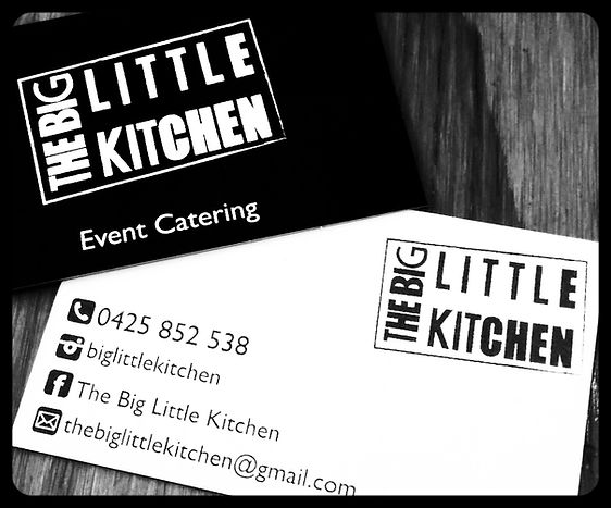 The big little kicthen business cards