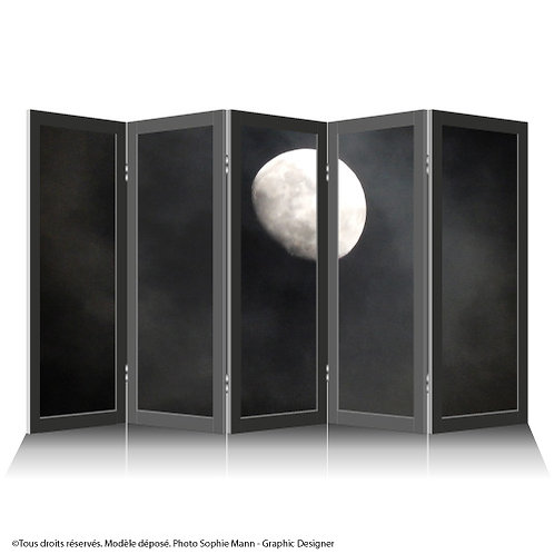 "Paravent ""Moon Night"""