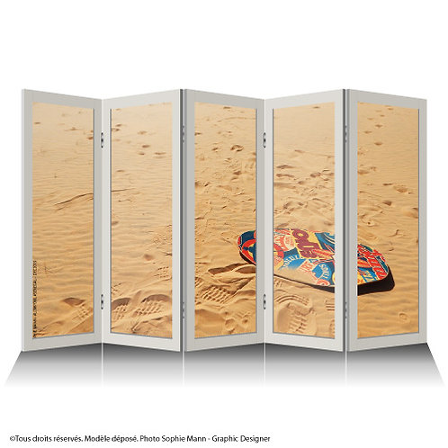 """Paravent """"Surfing Desert"""""""