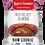 Thumbnail: Box of 16 Leya's Cookies RED VELVET ALMOND liquid filling.