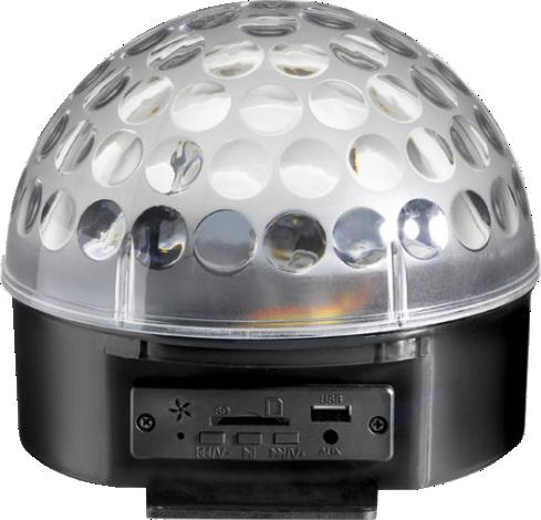 Luz Cristal Magic Ball