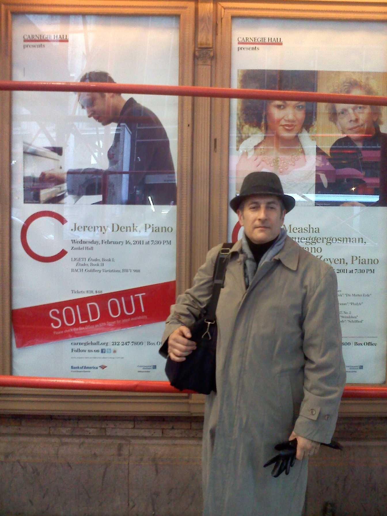 Jeremy Denk Concert -Carnegie