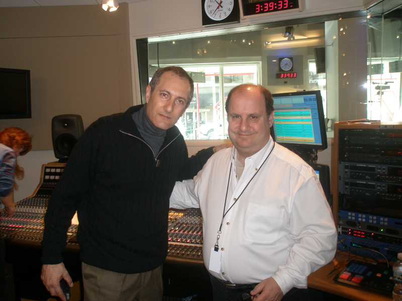 Arlan Harris at WNYC radio station