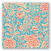 #12 Michel Design Orange Cream Napkins