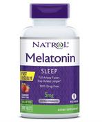 #18 Melatonin Fast Dissolve Chewable Strawberry