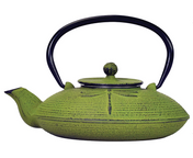 #16 Primula Dragonfly Japanese Cast Iron Teapot