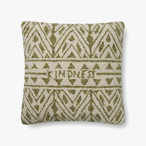 Kindness Green Pillow