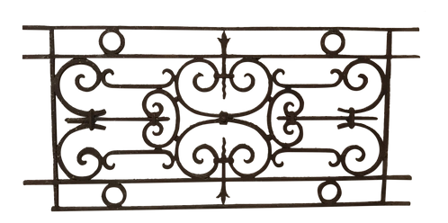 Late 19th Century Antique French Gate