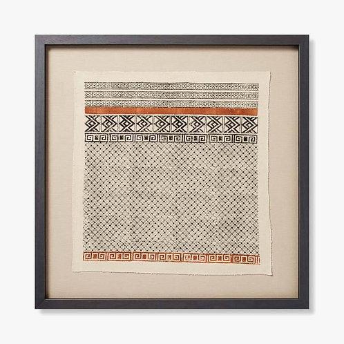 Sota Framed Textile Artwork