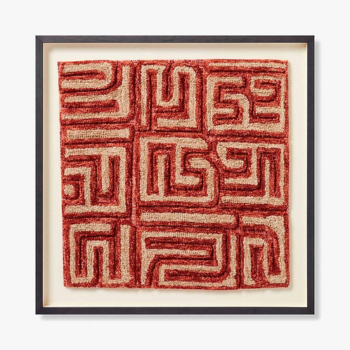 Katanga Framed Textile Artwork