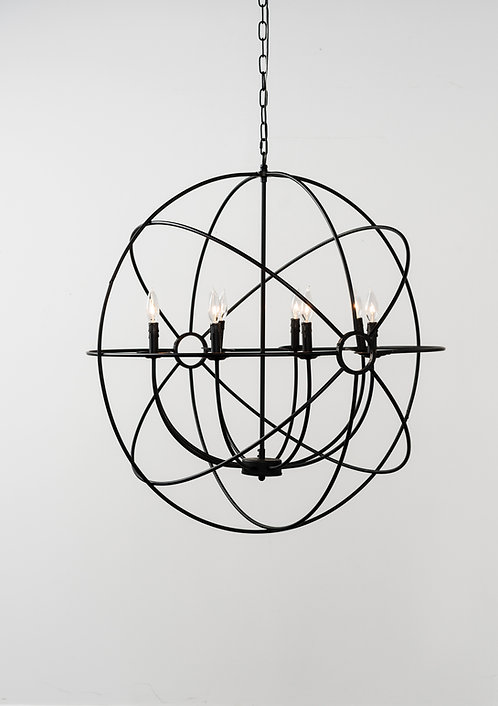 Kay Iron Chandelier Large
