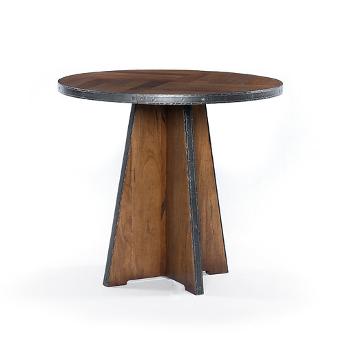 Haven End Table - Reclaimed Fruitwood