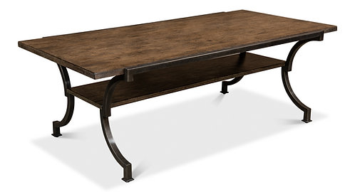 Walnut Country Cocktail Table