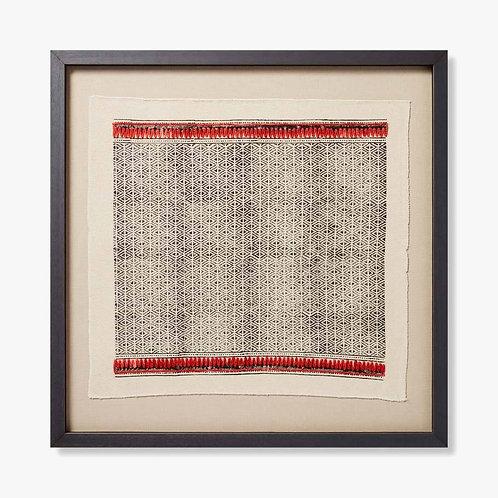 Ganges Framed Textile Artwork