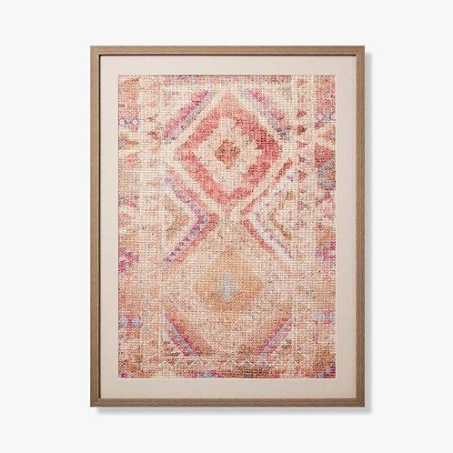 Jasper Framed Textile Artwork
