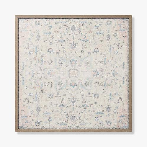 Eloise Framed Textile Artwork