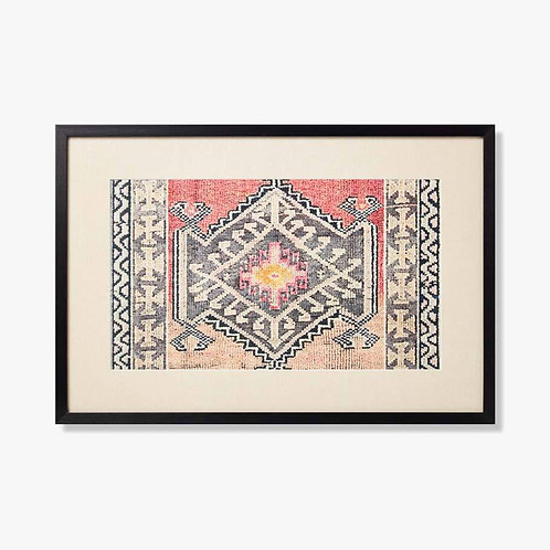 Spindel  Framed Textile Artwork