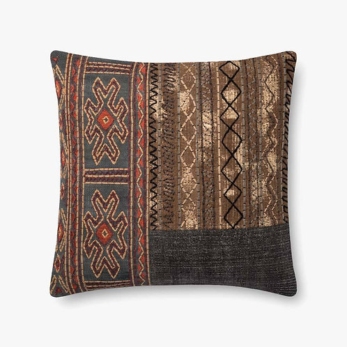 Grey and Brown Pillow