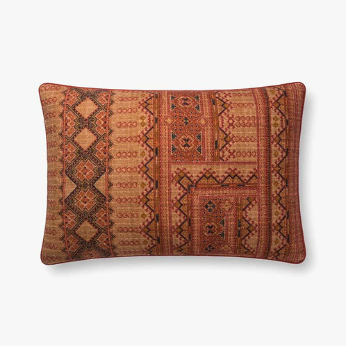 Rust Lumbar Pillow