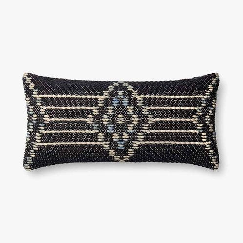 Navy Multi Lumbar Pillow