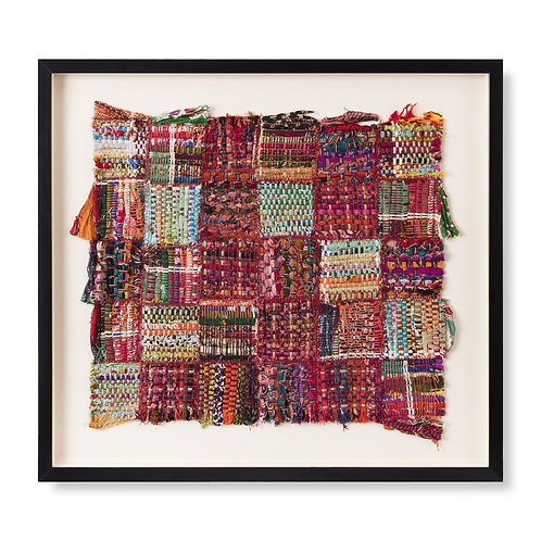 Detangle Framed Textile Artwork