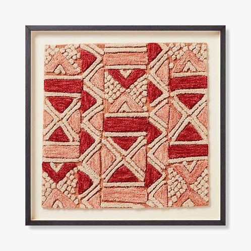 Bokila Framed Textile Artwork