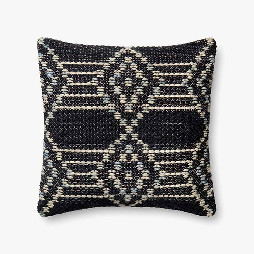 Navy Multi Square Pillow