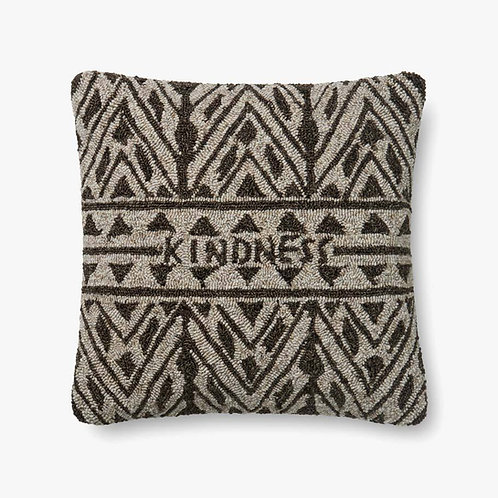 Kindness Brown Pillow