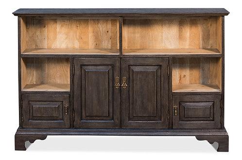 Grey Acacia Low Bookcase