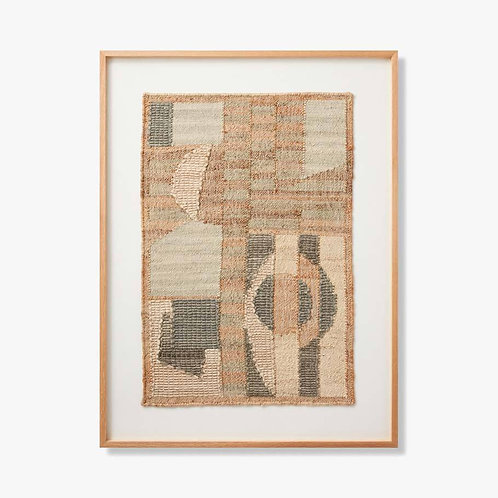 Descendant Framed Textile Artwork