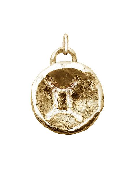 Gemini 'Astrology' petite amulet