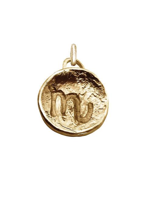 Scorpio 'Astrology' petite amulet