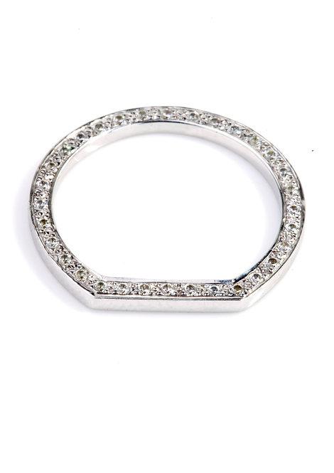 'Sacred' side set eternity ring