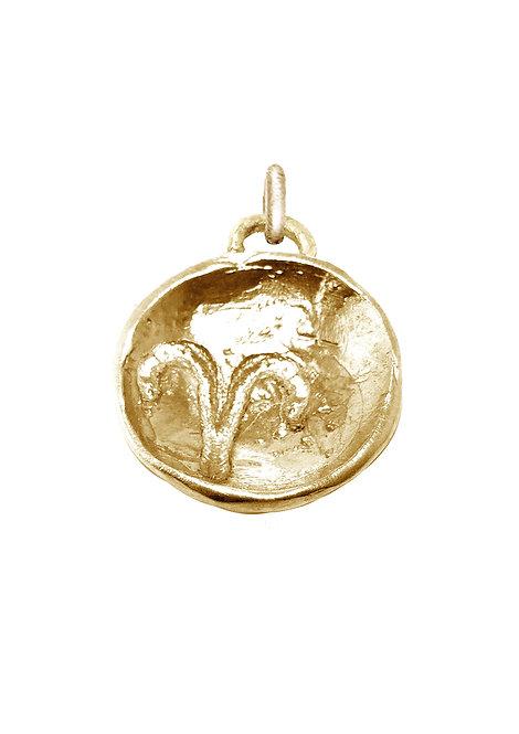 Aries 'Astrology' petite amulet