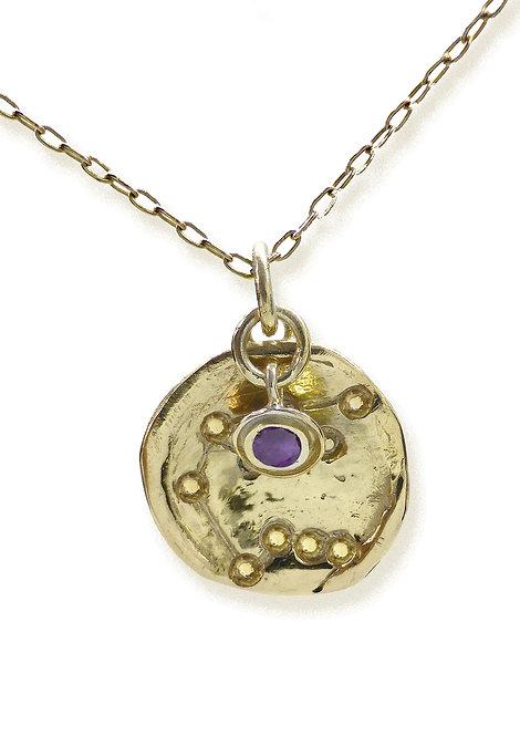 Aquarius 'Constellation' amulet