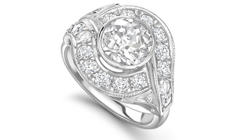 commission engagement ring