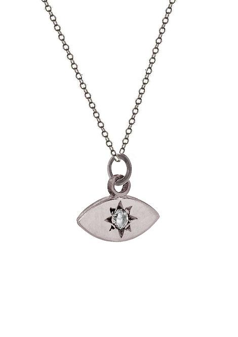 'Carat' marquis pendant necklace