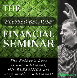 The Blessed Because Seminar