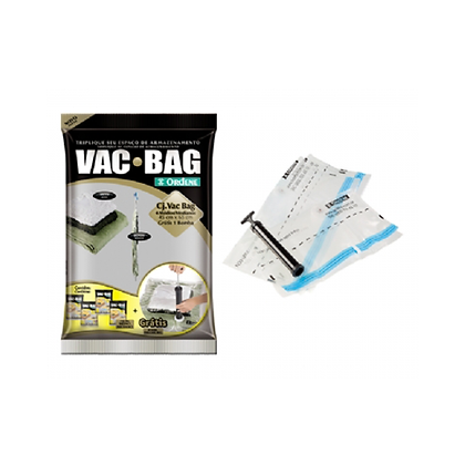 Conjunto Embalagem para Roupa (Vácuo) - OR56300