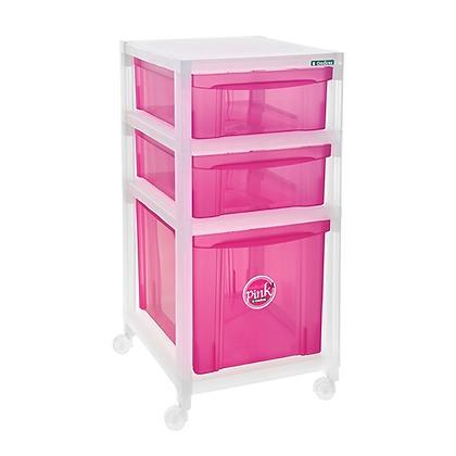 Gaveteiro Médio Pink - OR16608