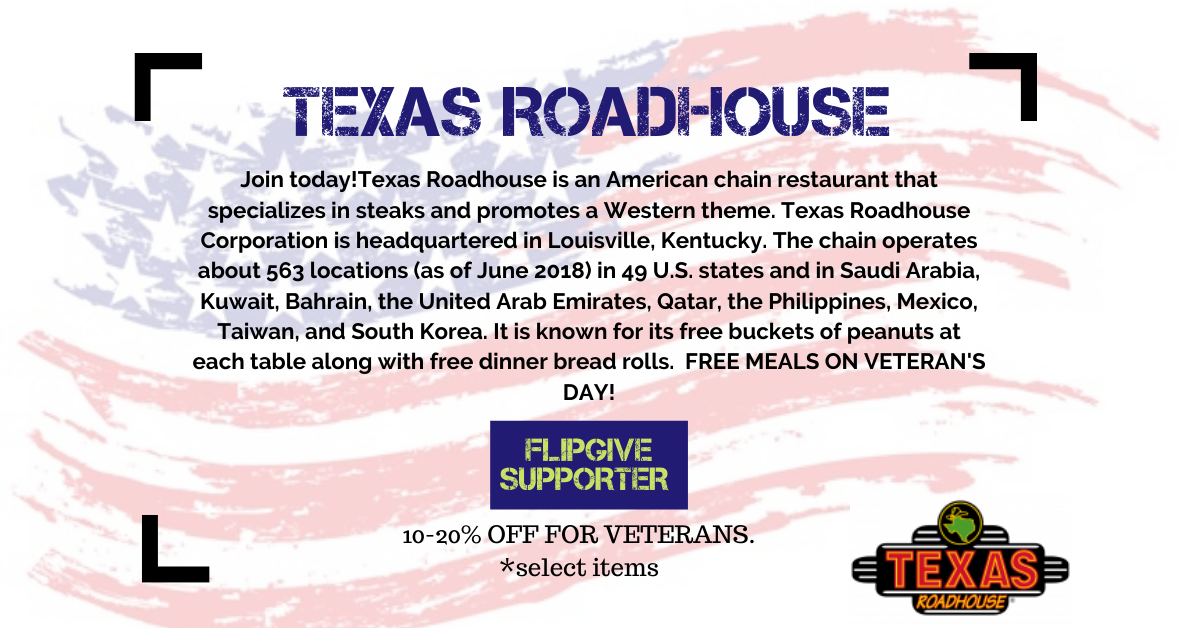 Texas Roadhouse supporter