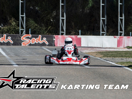 Racing Talents Karting Team, Recas: 1ª Carrera - Primera Victoria
