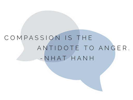 Compassion is the Antidote to Anger