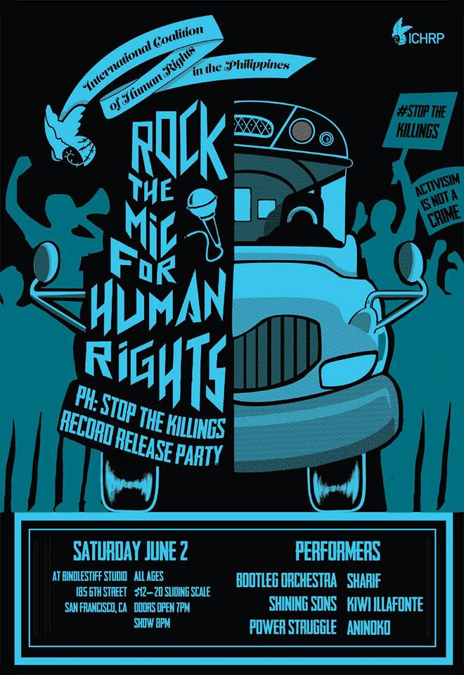 Album Release - Rock the Mic for Human Rights: Benefit for ICHRP