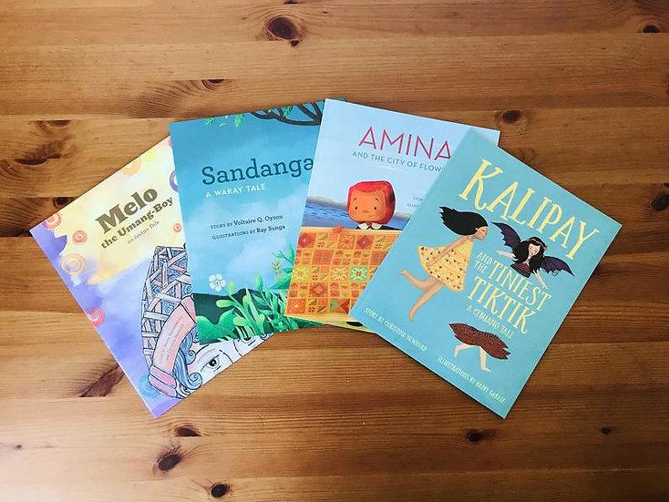 4 Filipino Stories Set